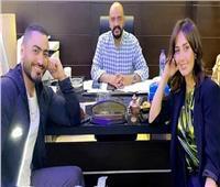 أول تعليق من حلا شيحه على مشاركتها تامر حسني فيلمه الجديد