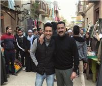 صور  كواليس مسلسل محمد رجب الجديد «الأخ الكبير»
