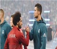 محمد صلاح على خطى رونالدو في حفل الكرة الذهبية
