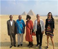 صور| زيارات للمعالم السياحية والمشروعات القومية للمشاركين بالمؤتمر الدولي الثالث للإسكان