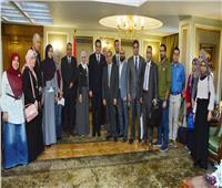 وزير التعليم العالي يلتقي الباحثين المقبولين بمدرسة العلوم النووية بروسيا