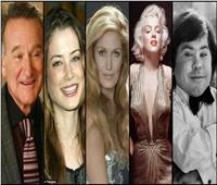 أبرزهم «مارلين مونرو وداليدا».. الانتحار يسدل الستار عن حياة «نجوم عالميين»