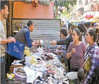 صوم الأقباط ينعش سوق السمك