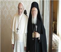البابا فرنسيس يبعث رسالة إلى البطريرك برتلماوس الأول