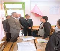 محافظ الغربية يتابع أعمال النظافة وانتظام العملية التعليمية في جولة بطنطا