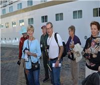 وصول 733 سائحا أجنبيا من اليونان لميناء الإسكندرية