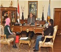 المحافظ الجديد يلتقي رئيسا مدينتي أسيوط الجديدة وناصر