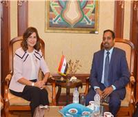 وزيرة الهجرة تبحث شكاوي الطلاب المصريين في ماليزيا مع القائم بأعمال السفير