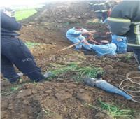 مجهولون يحاولون سرقة مواد بترولية من خط بترول بطريق «ايتاي البارود - كوم حمادة»