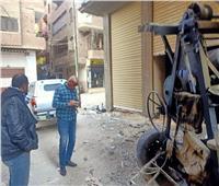 رئيس مدينة طوخ يأمر بمصادرة أدوات بناء في عقار مخالف