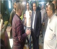 جولات تفقدية لمحافظ القاهرة ونائبه لمتابعة أعمال التطوير بحي الزاوية الحمراء