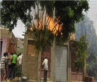إنقاذ ٣ أطفال من الموت في حريق بالسنطة