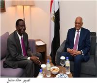عبد العال يلتقي وزير الثروة الحيوانية والسمكية في جنوب السودان