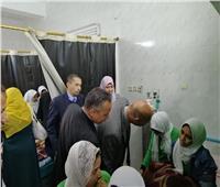 تحسن حالة الطالبات المصابات باختناق في الوادي الجديد وخروجهن من المستشفى