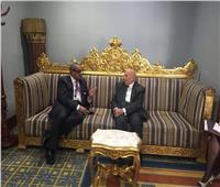 رئيس «القومي لحقوق الإنسان» يلتقي نظيره الكويتي