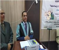 «مُعلم بالأزهر» يحصل على الدكتوراه في الأدب العربي