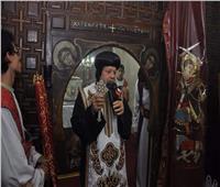 إيبارشية طموه تحتفل بعيد الشهيد أبي سيفين في ديره الأثري