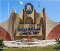 تجويف داخلي في رصيف ميناء دمياط
