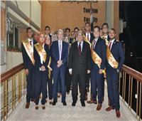 اختتام حفل تنصيب رئيس اتحاد جامعة حلوان