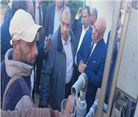 صور| وزير الزراعة يتفقد مركز التنمية المستدامة لموارد مطروح