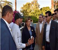 وزير الشباب يلتقى أحد أكبر تجمعات هواة قيادة الدراجات البخارية