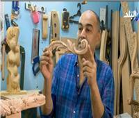 فيديو| نحات يكشف عن فن صناعة «الأويما»