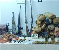 الداخلية: ضبط 201 قطعة سلاح ناري و 248 قضية مخدرات
