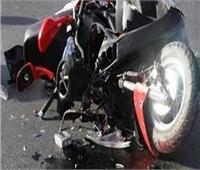 إصابة طالبين في انقلاب دراجة بخارية أعلى كوبري قنا