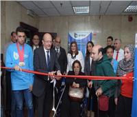 صور| بنك قناة السويس يقيم معرضا للحرف اليدوية لدعم ذوي الهمم