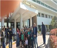 طلبة تعليم القاهرة في زيارة لمصابي العمليات العسكرية