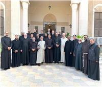لقاء كهنة الايبارشية البطريركية