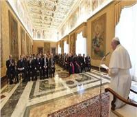 البابا فرنسيس يستقبل المشاركين في المنتدى العالمي للمنظمات غير الحكومية