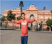 بعد لقاءه وزير الآثار.. جولة للطفل «علي صبرة» بمتحف التحرير