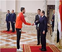 أبطال «الأوليمبي»: فرحتنا اكتملت بتكريم الرئيس.. ونتعهد بإنجازات جديدة تسعد المصريين