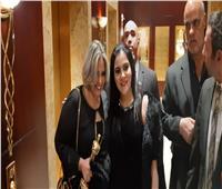 صور.. أول ظهور لصابرين بعد أزمة الحجاب في مهرجان نجم العرب