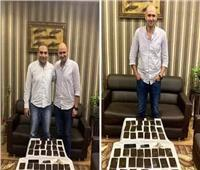 لفتة إنسانية| نقيب شرطة يمنع طرد مسن من مسكنه ويتكفل بعلاجه بالإسكندرية