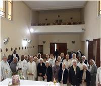 راهبات الكومبنيانيه يحتفلون بنذورهم الرهبانية