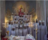 «أسقفية الشباب» تنظم موتمرًا للألحان بدير مارمينا بمريوط