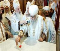 تدشين كنيسة «تاج الشهداء الأمير بقطر» في عيده بالبحيرة