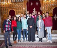 لجنة الشباب الإيبارشي تختتم أنشطتها بكاتدرائية القديس أنطونيوس