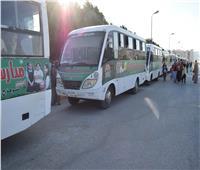 10 حافلات لنقل الطلاب بجامعة سوهاج «مجانا»