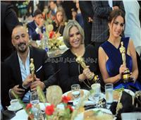 صور| السقا ودنيا سمير غانم وطارق لطفي نجوم العرب ٢٠١٩