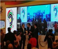 تكريم وزير الشباب بمؤتمر مكافحة الفساد الرياضي