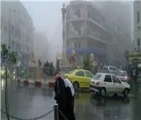 أمطار علي مدينة القنطرة شرق وطوارئ لرفع المياه