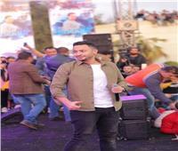 صور| حماده هلال يتألق في جامعة المنصورة.. ومي سليم نجمة الحفل