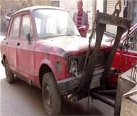 المرور: رفع 13 سيارة ودراجة بخارية «متروكة» بشوراع القاهرة