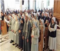 إيبارشية المنيا تحتفل بعيد «الحبل بلا دنس» بكاتدرائية يسوع الملك