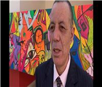 400 طالب يشاركون في رسم جدارية للتعبير عن العنف ضد المرأة