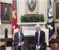 وكالة إنترفاكس: ترامب يجتمع مع وزير الخارجية الروسي غدًا