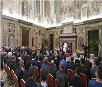 البابا فرنسيس يستقبل أعضاء منظمة «فرصة في الحياة»